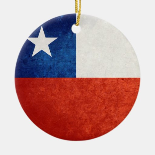 Flag of Chile Christmas Ornament