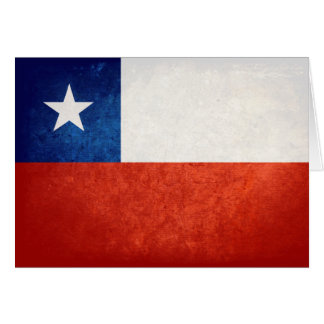 Flag of Chile Note Card