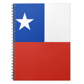 Flag of Chile Notebooks
