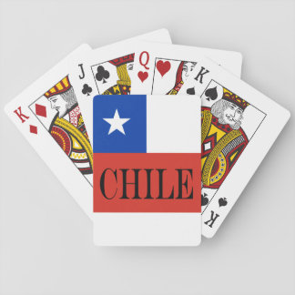 Flag of Chile Playing Cards