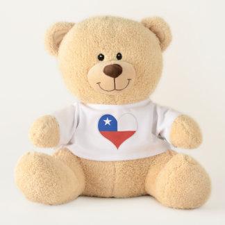 Flag of Chile Teddy Bear