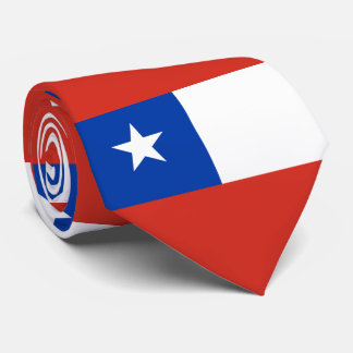 Flag of Chile Tie