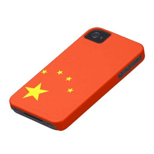 Flag of China BlackBerry Bold Cases
