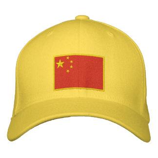 Flag of China Embroidered Baseball Caps