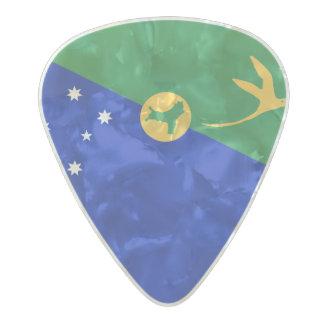 Flag of Christmas Island Guitar Picks