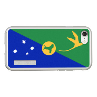 Flag of Christmas Island Silver iPhone Case