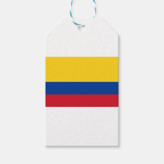 Flag of Colombia - Bandera de Colombia Gift Tags