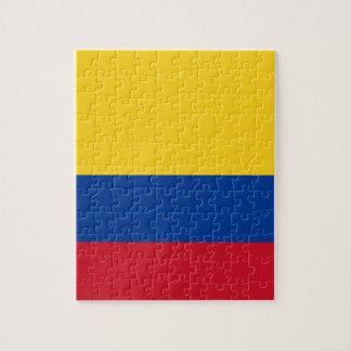 Flag of Colombia - Bandera de Colombia Jigsaw Puzzle