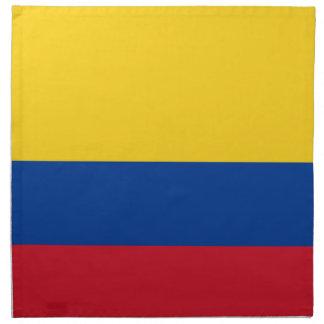 Flag of Colombia - Bandera de Colombia Napkin