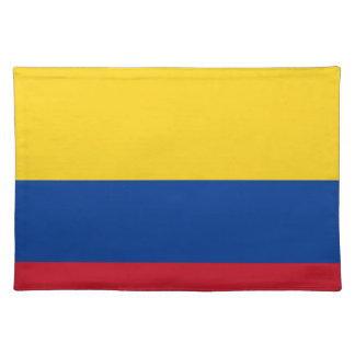 Flag of Colombia - Bandera de Colombia Placemat
