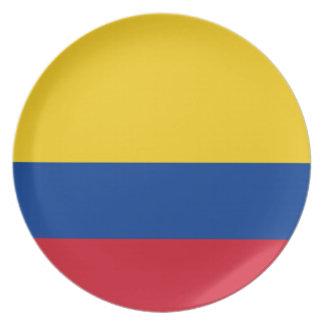 Flag of Colombia - Bandera de Colombia Plate