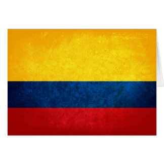 Flag of Colombia Cards
