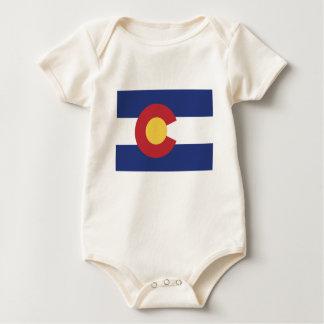 Flag of Colorado Baby Bodysuit