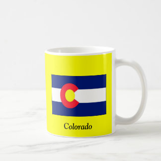 Flag of Colorado Basic White Mug