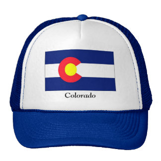 Flag of Colorado Hats
