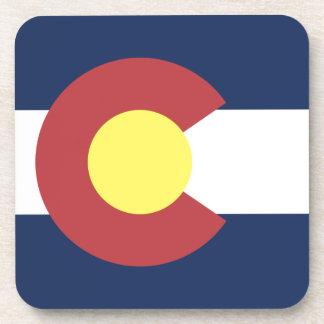Flag of Colorado Drink Coasters