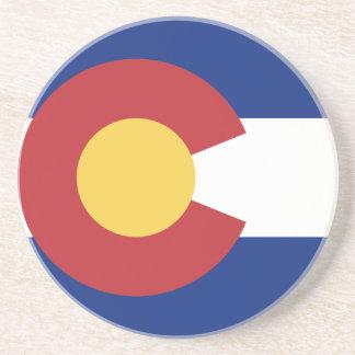 Flag of Colorado Drink Coaster