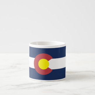Flag of Colorado Espresso Cup