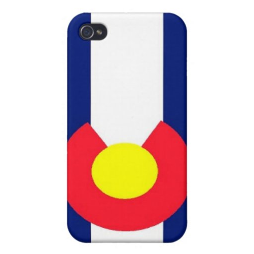 Flag of Colorado iPhone 4/4S Cases