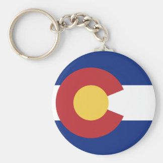 Flag of Colorado Key Ring
