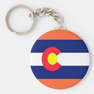 Flag of Colorado Keychain