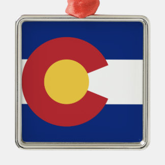 Flag of Colorado Metal Ornament