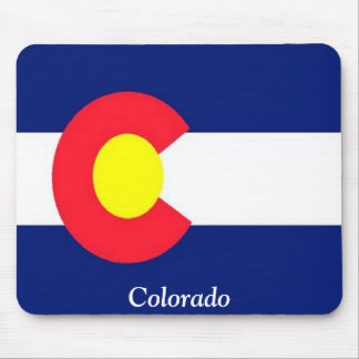 Flag of Colorado Mouse Pad