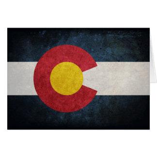 Flag of Colorado Note Card