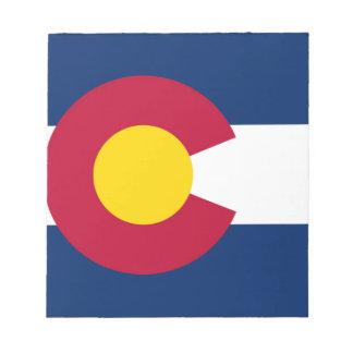 Flag Of Colorado Notepad