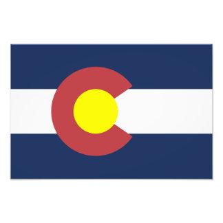Flag of Colorado Photo