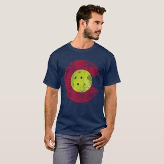 Flag of Colorado Pickleball T-Shirt