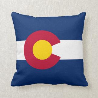 Flag of Colorado Pillows