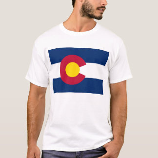 flag of Colorado T Shirt