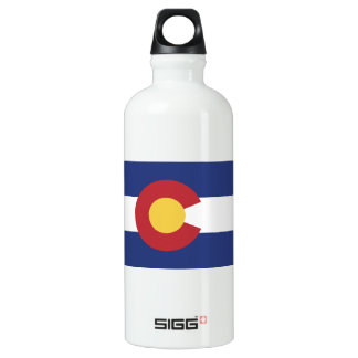 Flag of Colorado Water Bottle
