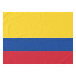 Flag of Columbia Bandera De Colombia Tablecloth