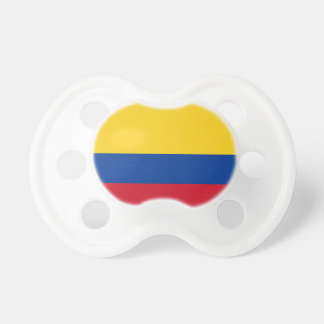 Flag of Columbia, Republic of Colombia BooginHead Pacifier