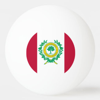 Flag of Columbus, Ohio Ping Pong Ball