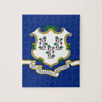 Flag Of Connecticut Jigsaw Puzzle