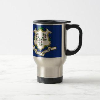 Flag Of Connecticut Travel Mug