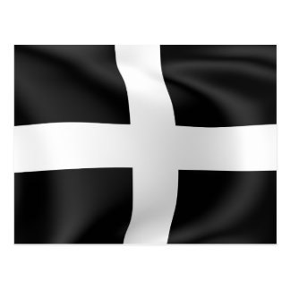 Flag of Cornwall Postcard