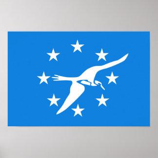 Flag of Corpus Christi Poster