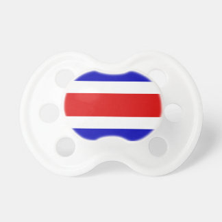 Flag of Costa Rica Baby Pacifiers