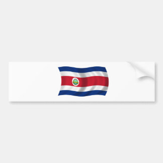 Flag of Costa Rica Bumper Sticker