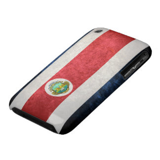 Flag of Costa Rica iPhone 3 Cover