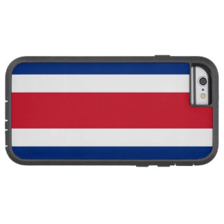 Flag of Costa Rica Tough Xtreme iPhone 6 Case