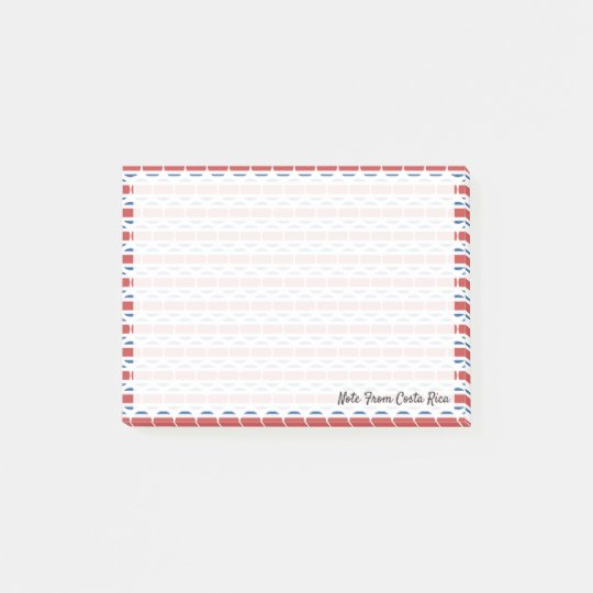 Flag of Costa Rica Emojis Post-it Notes