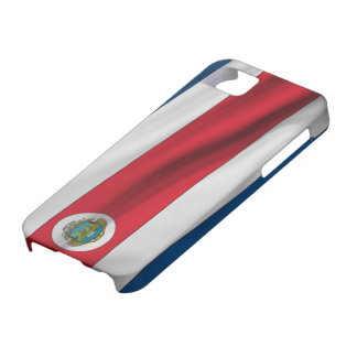 flag of Costa Rica iPhone 5 Case-Mate