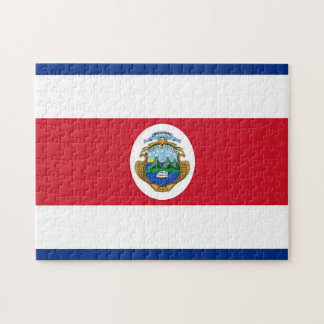 Flag of Costa Rica Jigsaw Puzzle