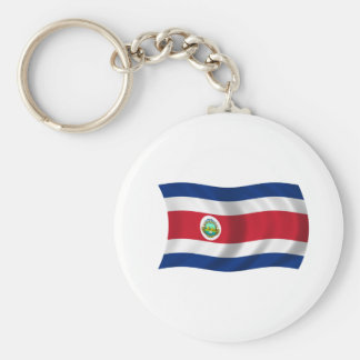 Flag of Costa Rica Keychains