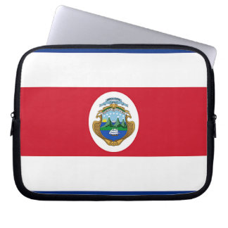 Flag of Costa Rica Computer Sleeves